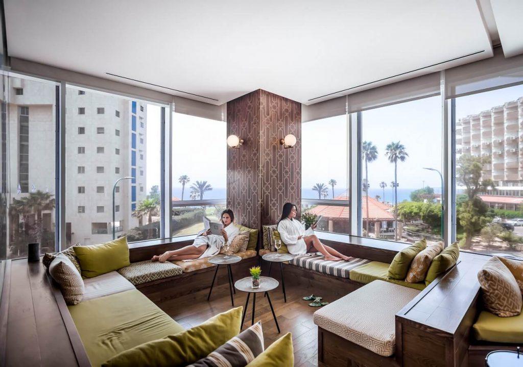 מלון דיוויד טוואר פינת רוגע בספא במלון