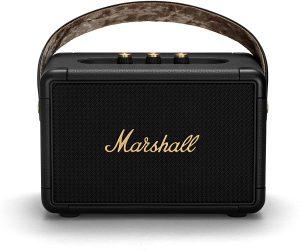 רמקול נייד Kilburn מבית המותג Marshall  שח במקום  שח להשיג בסיריוס אלקטרוניקה ובאתר www